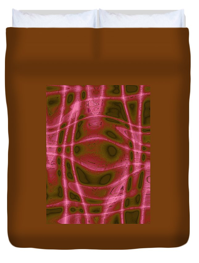 Moveonart Digital Gallery Lower Nob Hill San Francisco California Jacob Kanduch Duvet Cover featuring the digital art Moveonart Unknown Artistic Intelligence by Jacob Kanduch