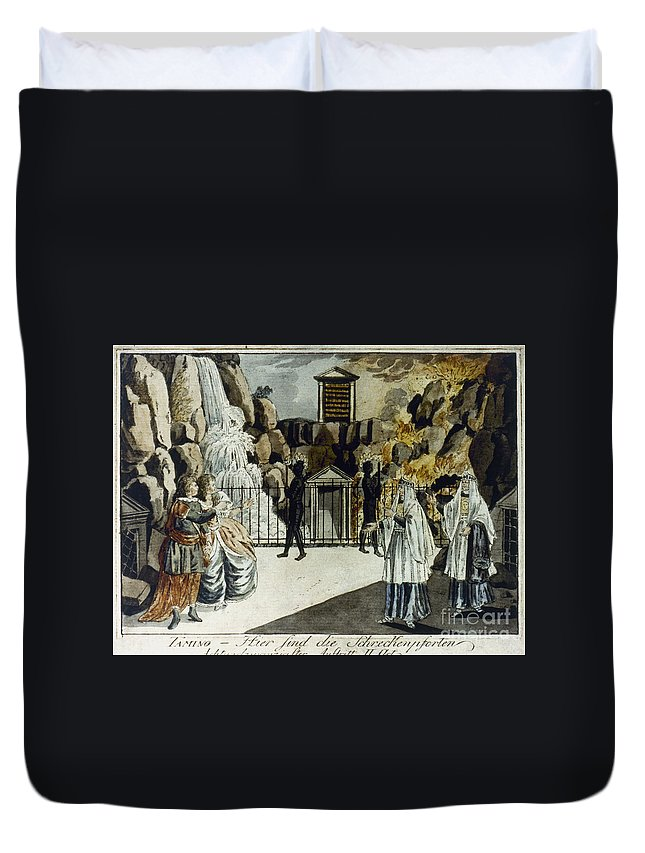 18th Century Duvet Cover featuring the photograph Mozart: Magic Flute by Granger
