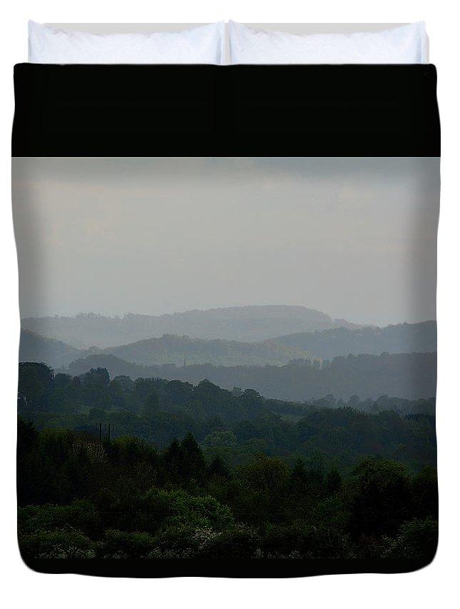 Landscape Duvet Cover featuring the photograph Mr by Dave Daniel