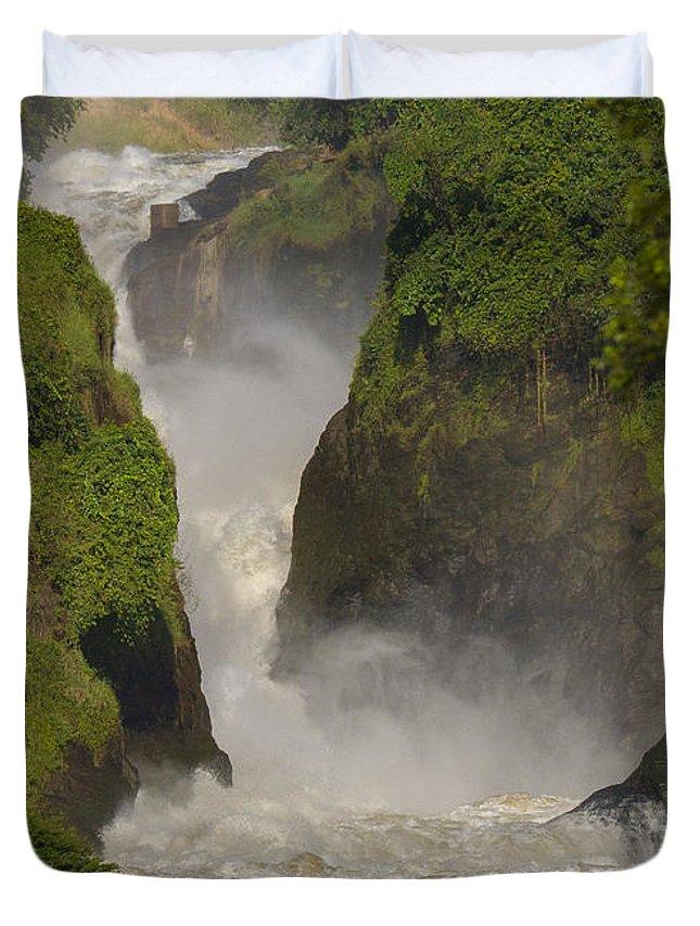 Africa Duvet Cover featuring the photograph Murchison Falls, Uganda by Gordon Longmead
