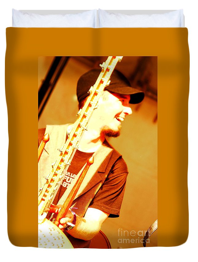African Duvet Cover featuring the photograph Music Is Joyful Noise by Jesse Ciazza
