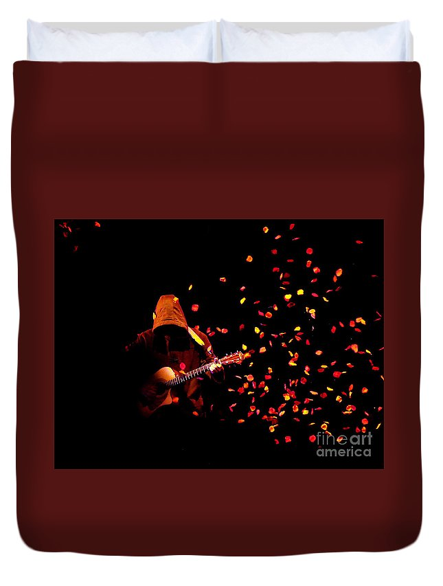 Clay Duvet Cover featuring the photograph Musical Appirition by Clayton Bruster