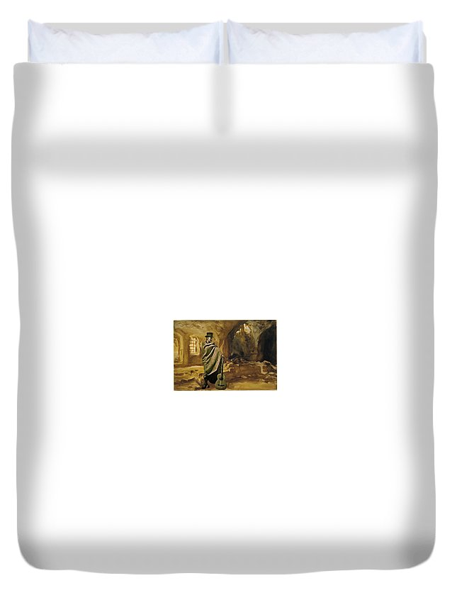 Colette Duvet Cover featuring the photograph My Beloved Mum Chris by Colette V Hera Guggenheim