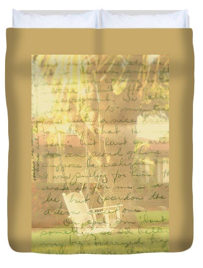 My Dear John Duvet Cover featuring the photograph My Dear John by Susanne Van Hulst