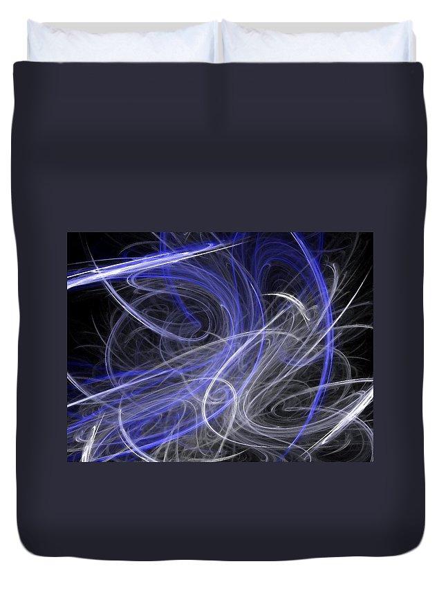 Mystic Duvet Cover featuring the digital art Mystic Dance by Rhonda Barrett