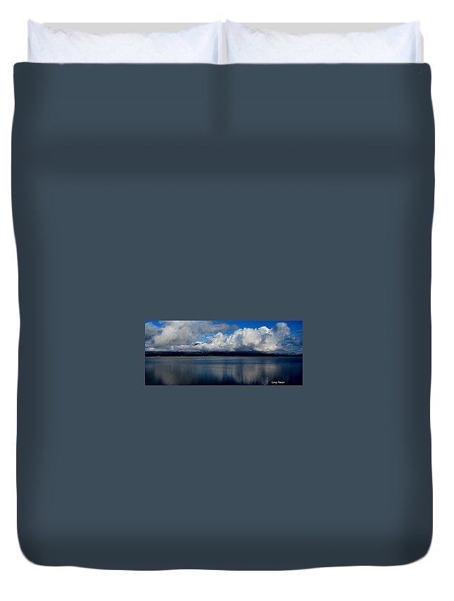 Patzer Duvet Cover featuring the photograph Mystic by Greg Patzer