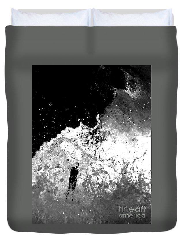 Water Duvet Cover featuring the photograph Natural Power by Amanda Barcon