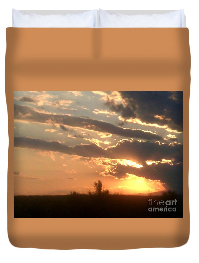 Duvet Cover featuring the photograph Natural Treasure by Kelly Awad