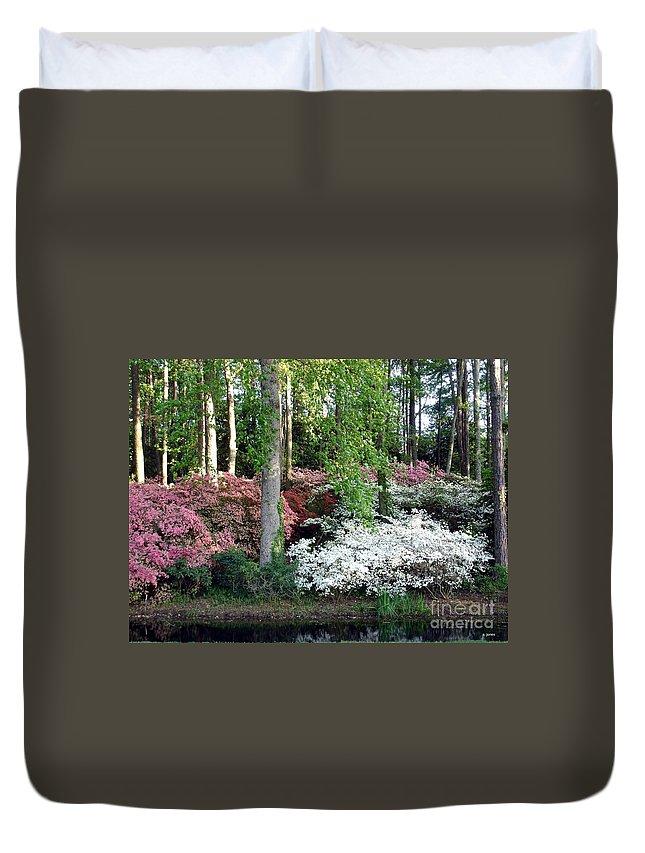 Landscape Duvet Cover featuring the photograph Nature 2 by Shelley Jones