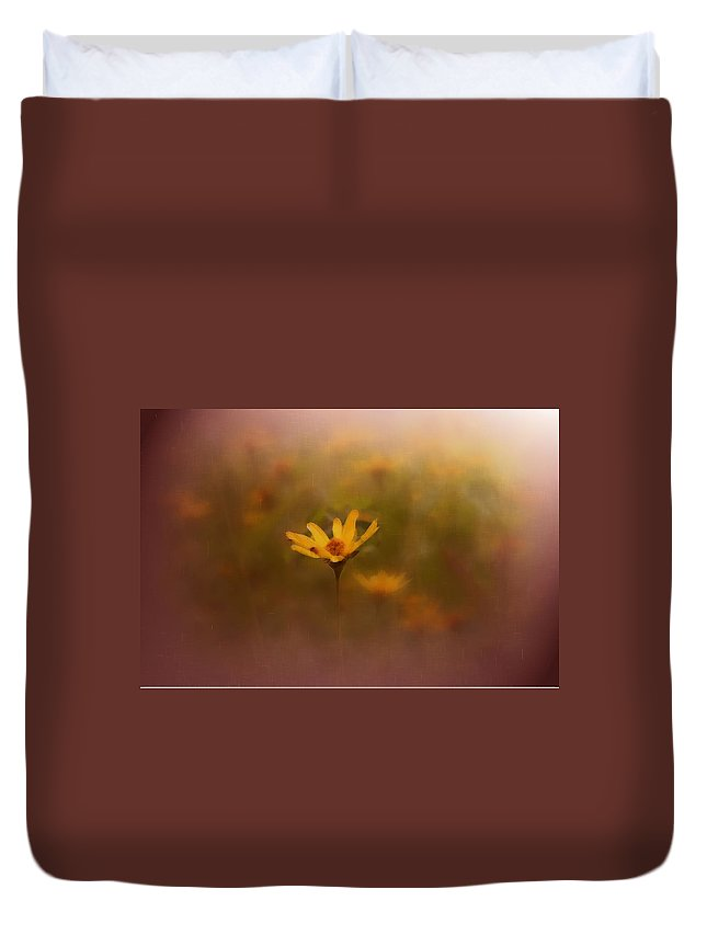 Nature Duvet Cover featuring the photograph Nature by Linda Sannuti