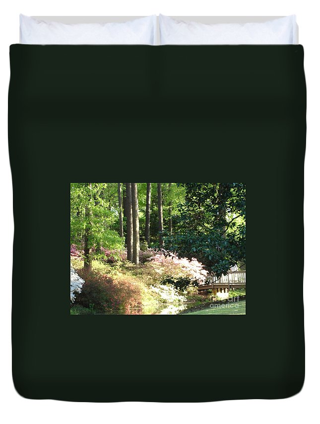 Photography Duvet Cover featuring the photograph Nature by Shelley Jones