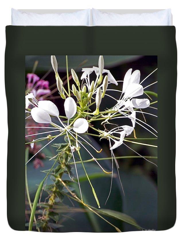 Lauren Radke Duvet Cover featuring the photograph Nature's Design by Lauren Radke