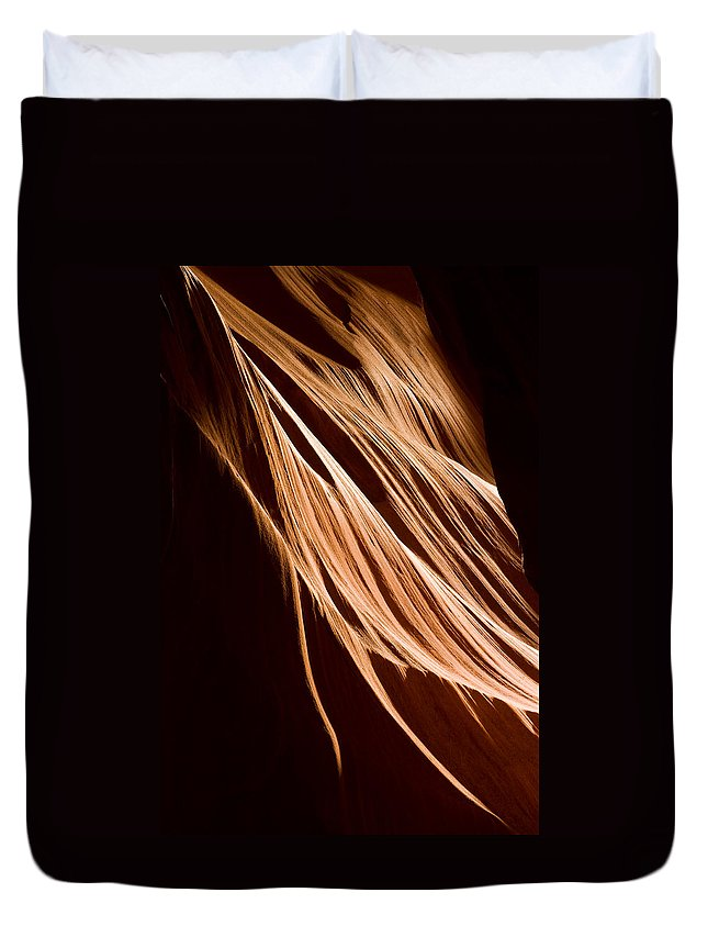 3scape Photos Duvet Cover featuring the photograph Natures Lines by Adam Romanowicz