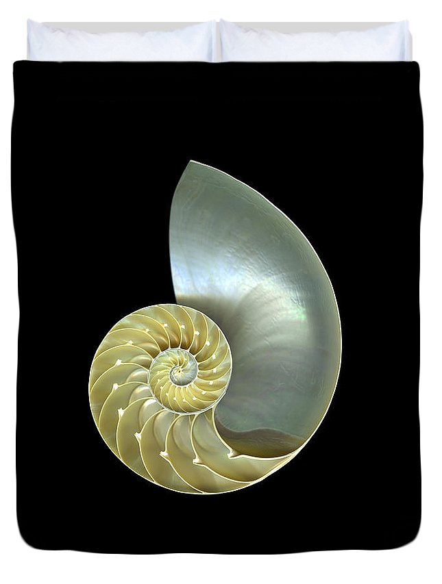 Slanec Duvet Cover featuring the photograph Nautilus Nr.1 by Christian Slanec