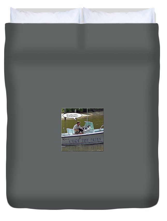 2d Duvet Cover featuring the photograph Navigator by Brian Wallace