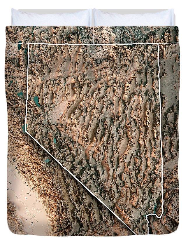 Sierra Nevadas Duvet Covers