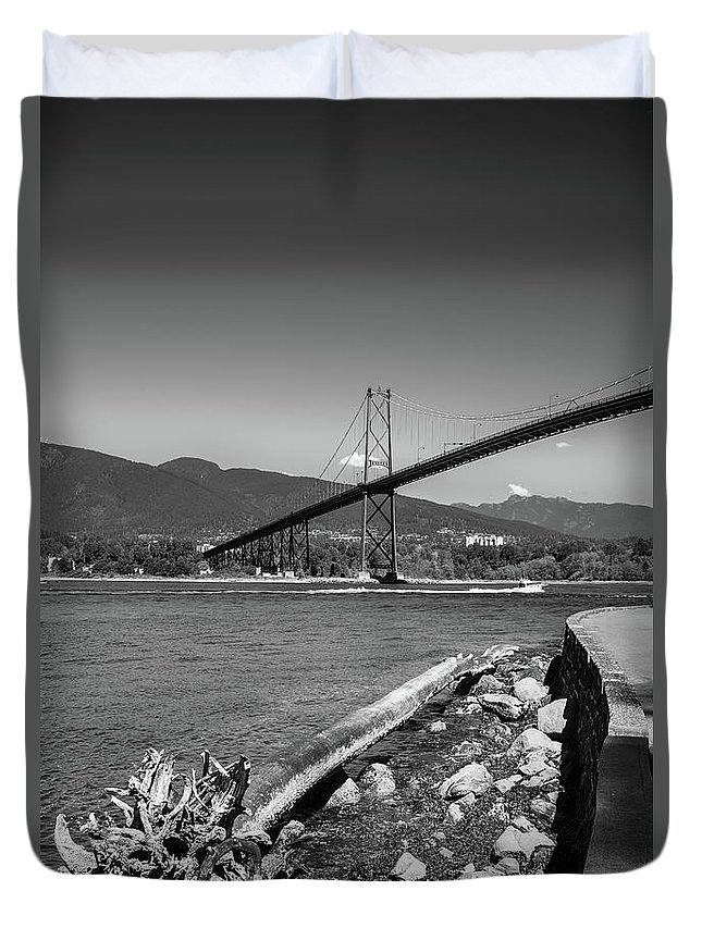 Bc Day Duvet Cover featuring the photograph New Driftwood by Ross G Strachan