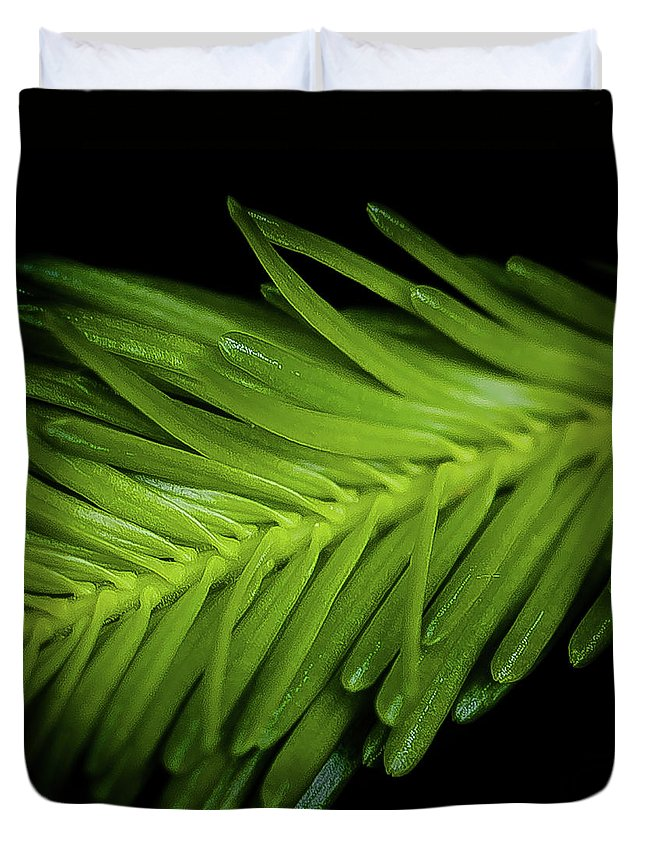 New Growth Duvet Cover featuring the photograph New Growth by David Patterson