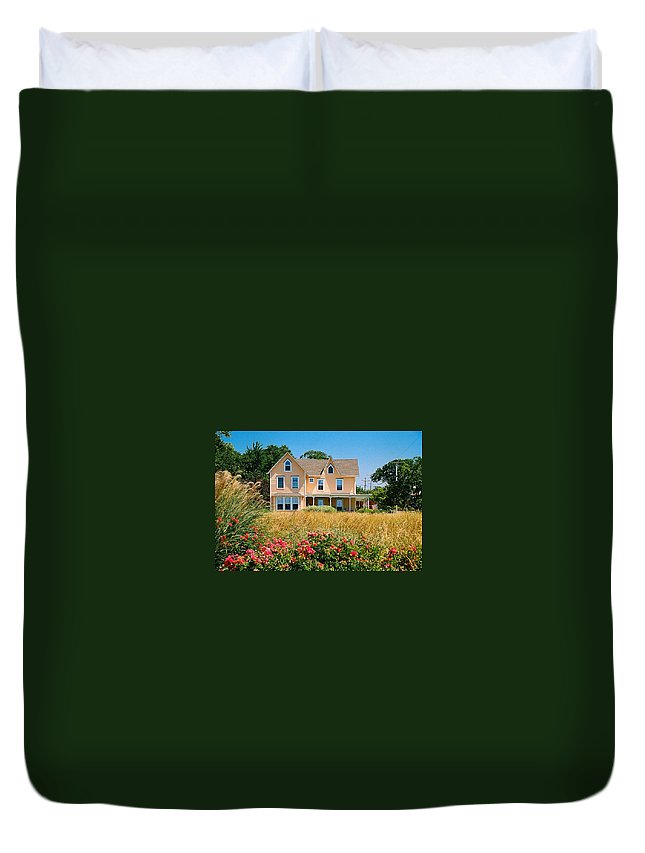 Landscape Duvet Cover featuring the photograph New Jersey Landscape by Steve Karol