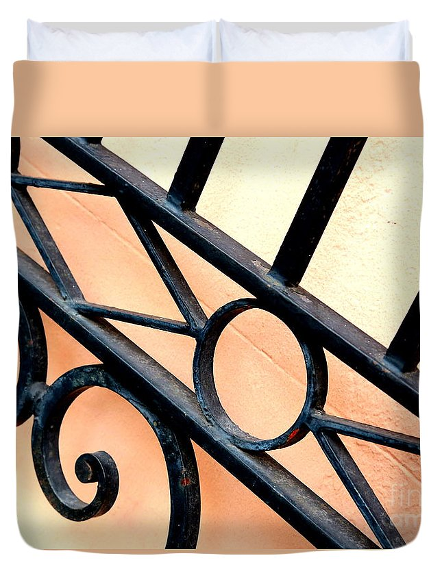 Orange Duvet Cover featuring the photograph New Orleans Orange by Carol Groenen