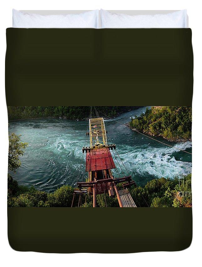 Niagara Falls Duvet Cover featuring the photograph Niagara Falls The Whirlpool by Oleksiy Maksymenko