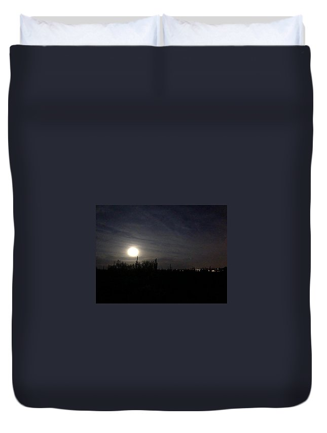 Duvet Cover featuring the photograph Nights Of Cave Creek #2 by Joy Elizabeth