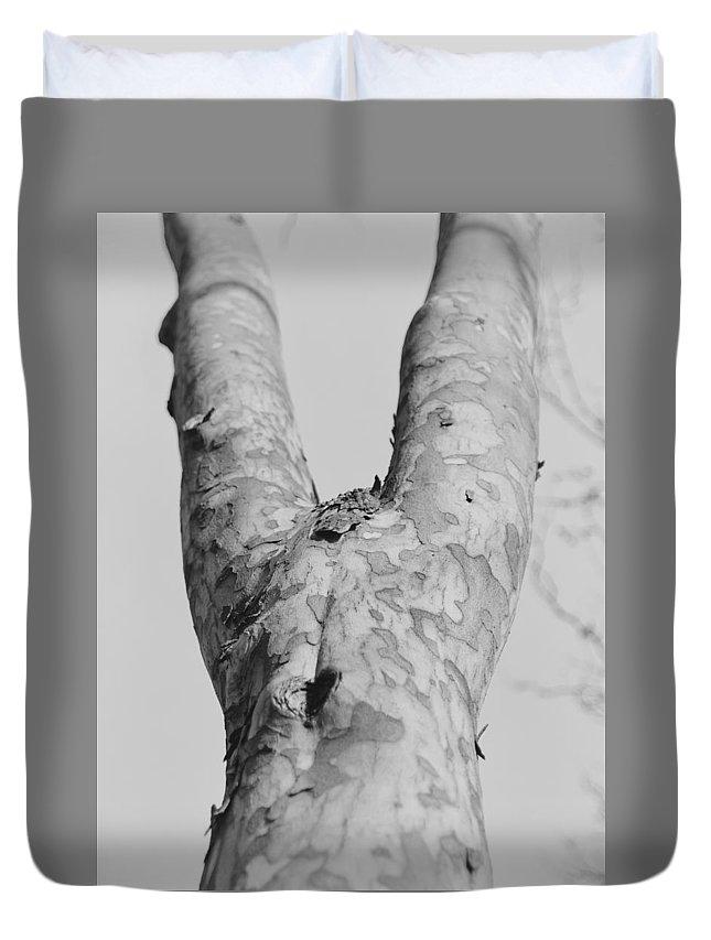Abstract Duvet Cover featuring the photograph No Dress by Krunoslav Vecenaj