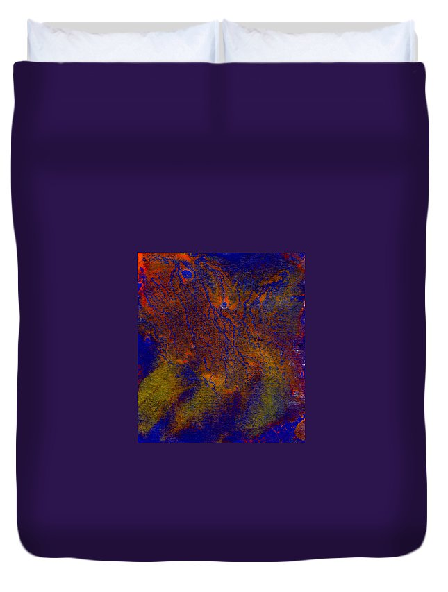 Abstract Colourful Pattern. Duvet Cover featuring the digital art Abstract Pattern by Dylan Gage