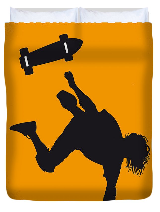 Dogtown Duvet Cover featuring the digital art No450 My Dogtown And Z-boys Minimal Movie Poster by Chungkong Art