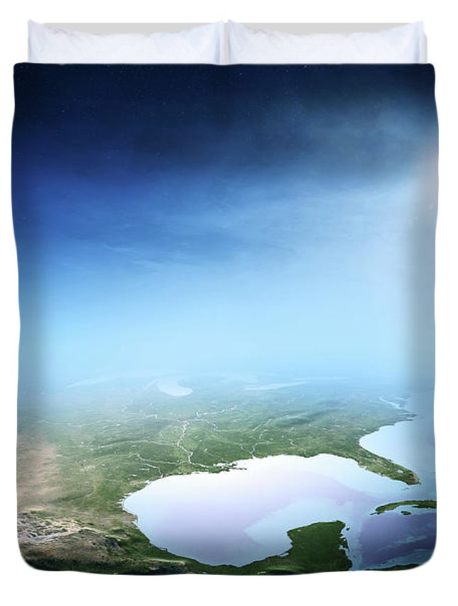 Aerials Photographs Duvet Covers