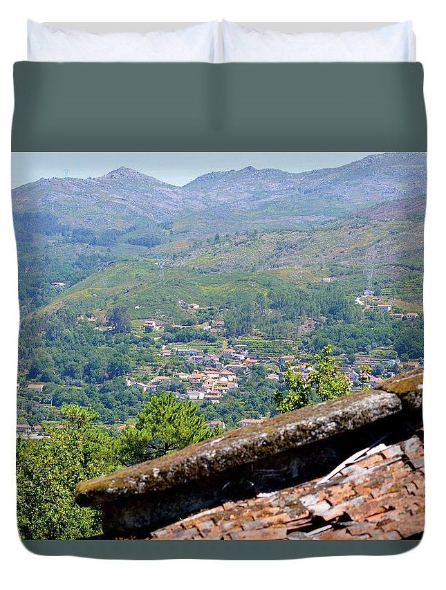 Portugal Duvet Cover featuring the photograph Northern Portugal by Victoria Cerqueira