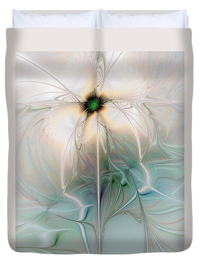 Digital Art Duvet Cover featuring the digital art Nostalgia by Amanda Moore
