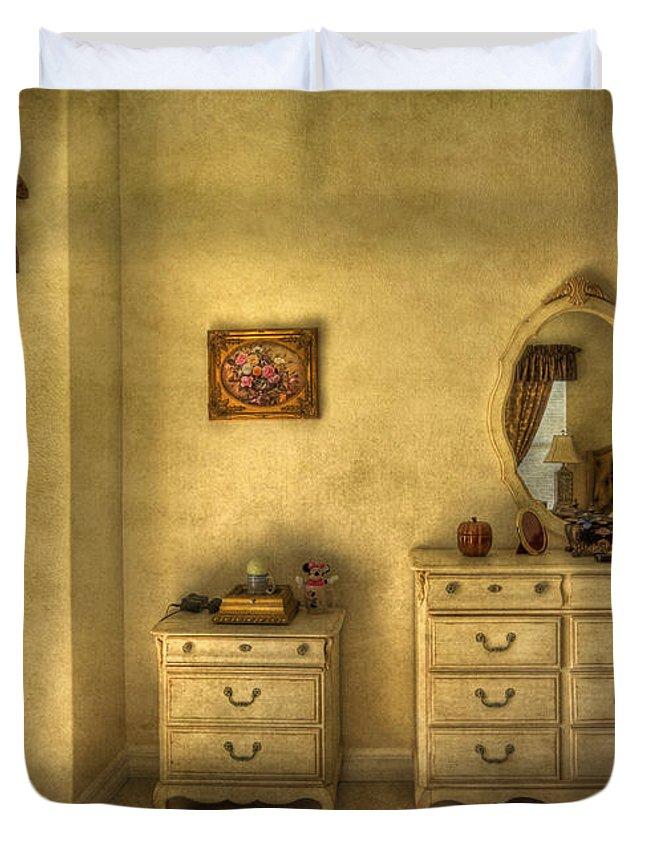 Room Duvet Cover featuring the photograph Nostalgic Harmonies by Evelina Kremsdorf