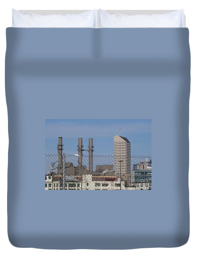 Landscape Duvet Cover featuring the photograph Not My White Flag by Stephen King
