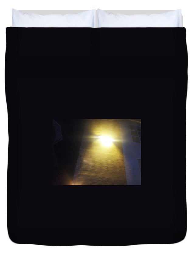 Photograph Duvet Cover featuring the photograph Nurse College by Thomas Valentine
