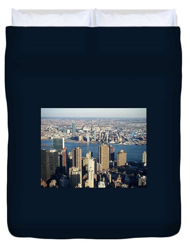 Nyc Duvet Cover featuring the photograph Nyc 6 by Anita Burgermeister