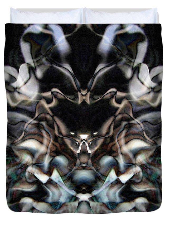 Deep Duvet Cover featuring the digital art Oa-5135 by Standa1one