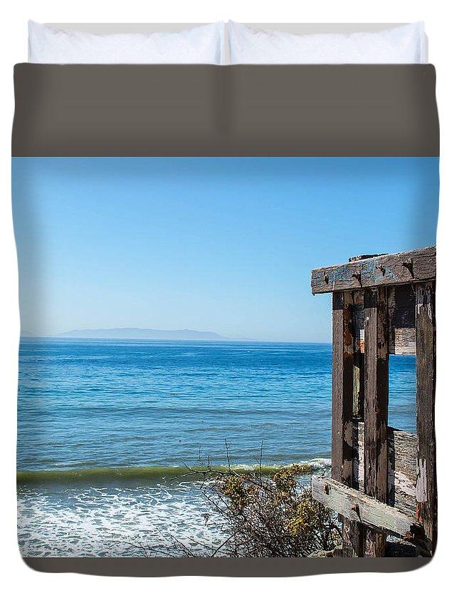 Ocean Duvet Cover featuring the photograph Ocean by Erick Kim