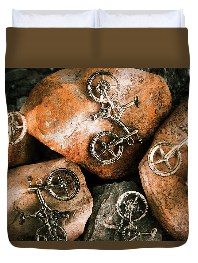 Off-road Cycling Duvet Cover for Sale by Jorgo Photography - Wall ...