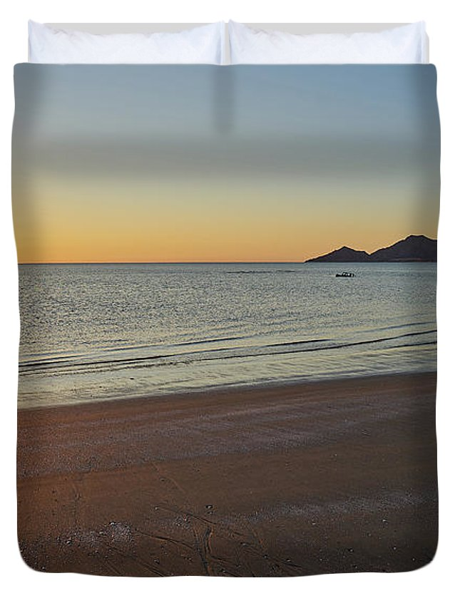 Duvet Cover featuring the photograph Offroad by Bruce Jarmie
