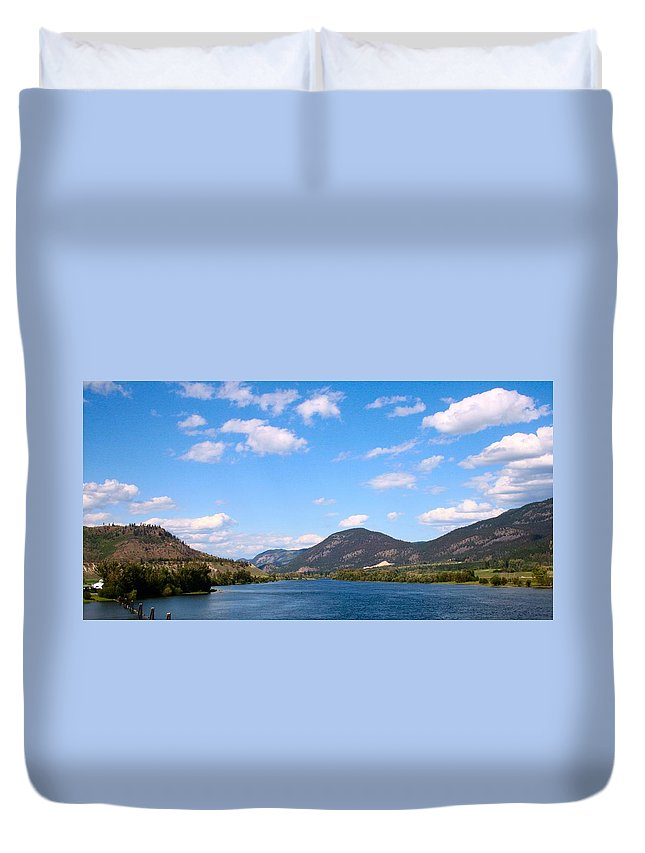 Summer Duvet Cover featuring the photograph Okanagan Summer by Tiffany Vest