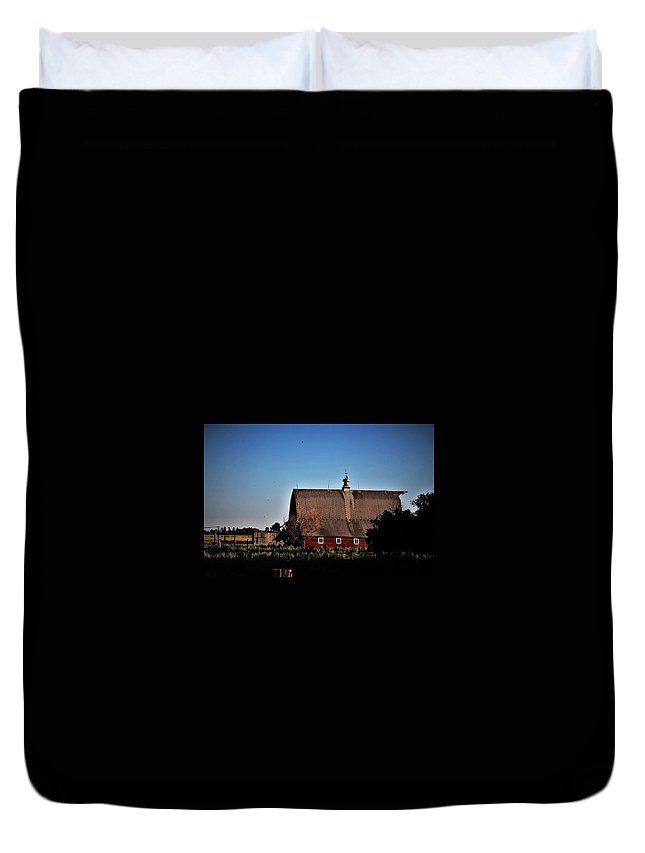 Old Duvet Cover featuring the photograph Home Sweet Home by Vice Photo