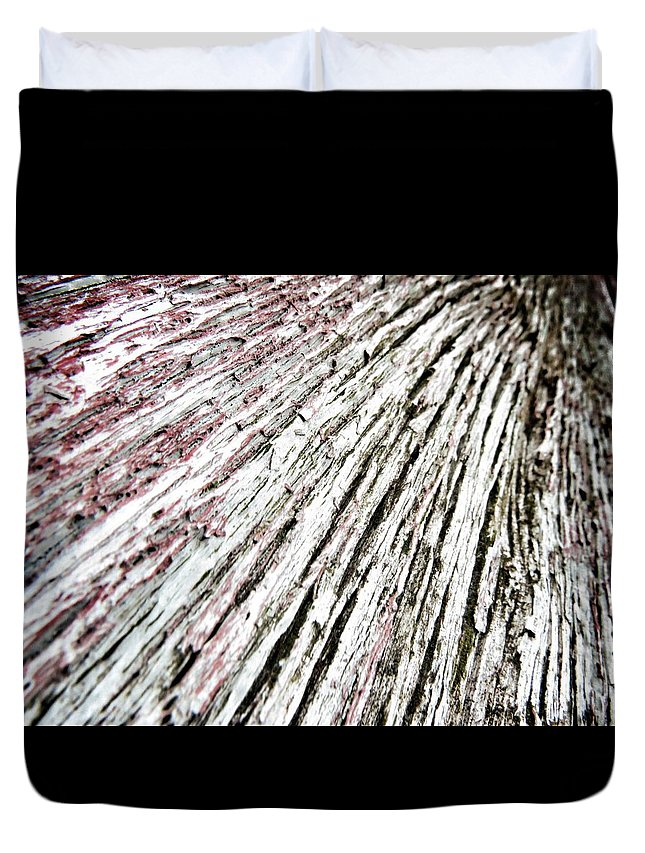 Photography Duvet Cover featuring the photograph Old Wood #3 by Nathan Snoke