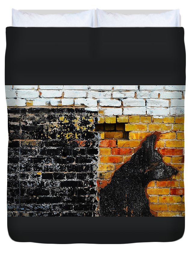 Skip Hunt Duvet Cover featuring the photograph Omen by Skip Hunt