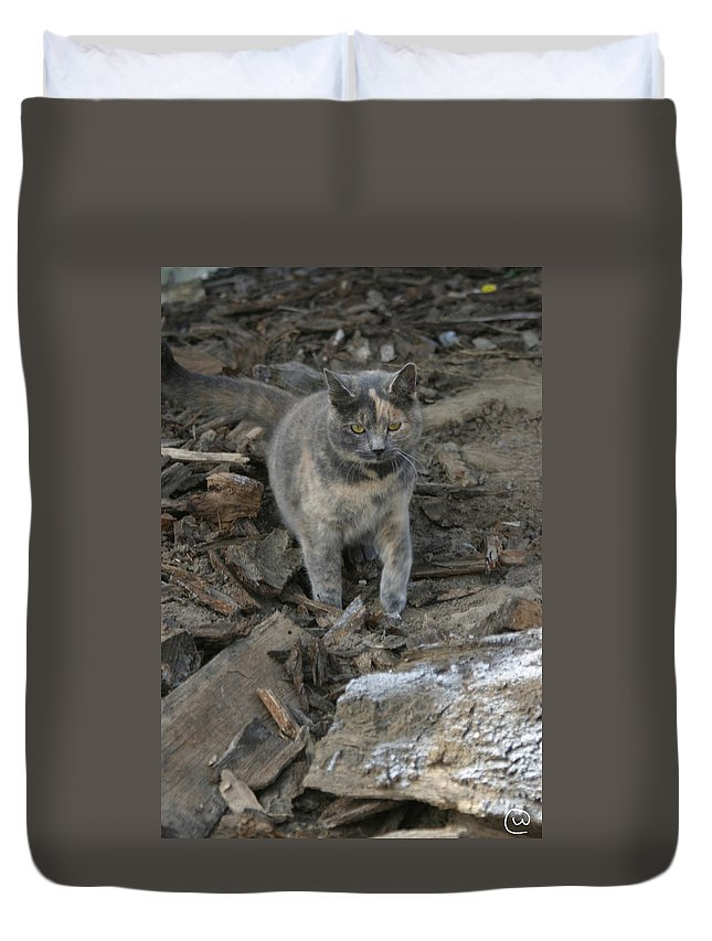 Soldier Duvet Cover featuring the photograph On A Mission by Bjorn Sjogren