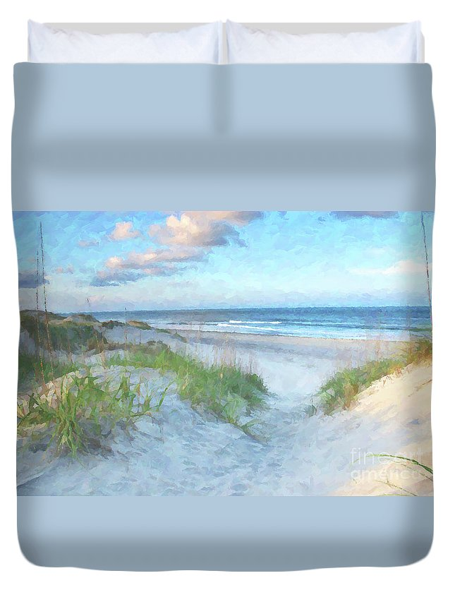 Virginia Beach Duvet Covers