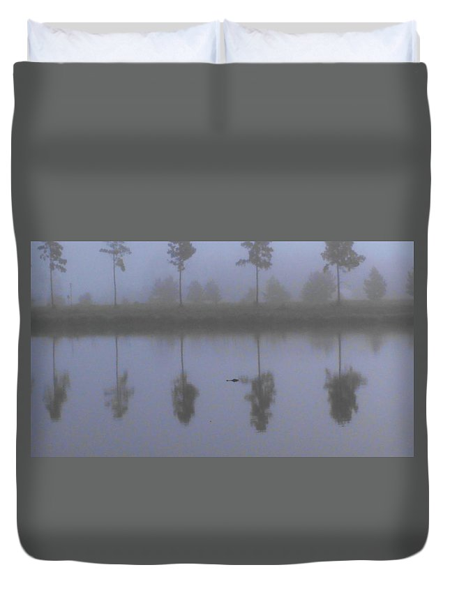 Duvet Cover featuring the photograph On The Hunt by Joseph Stewart
