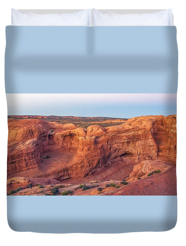 Nature Duvet Cover featuring the photograph On The Way by LOsorio Photography