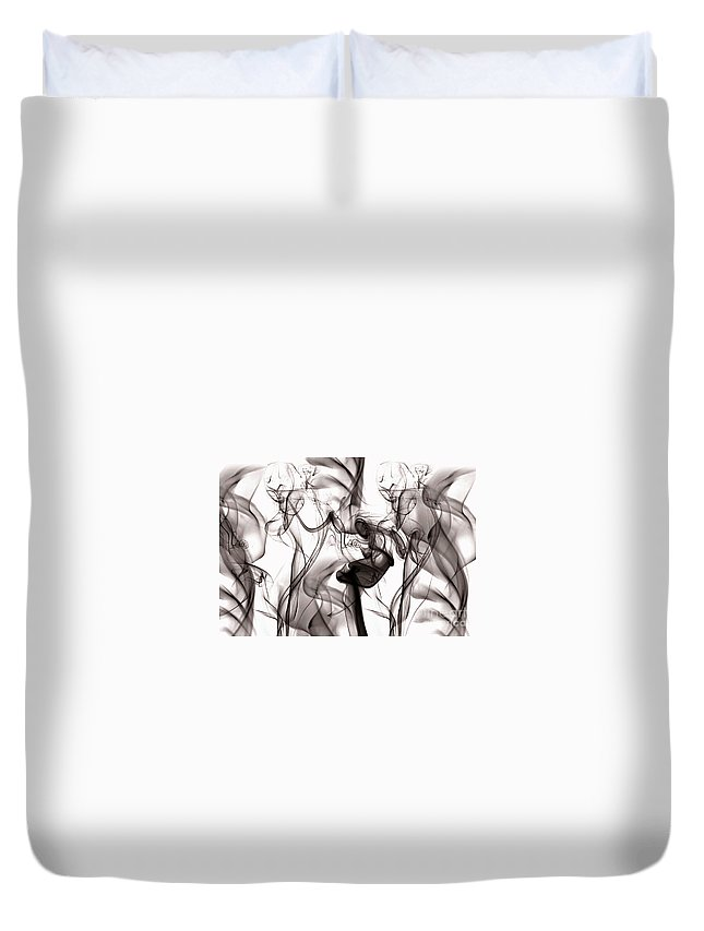 Clay Duvet Cover featuring the digital art One Among Many by Clayton Bruster