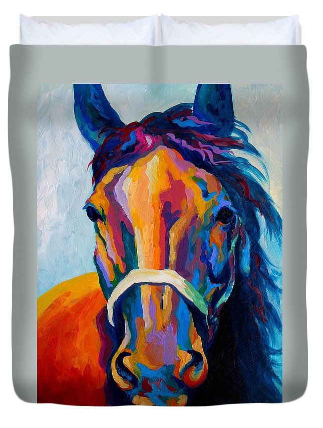 Horse Paintings Duvet Covers